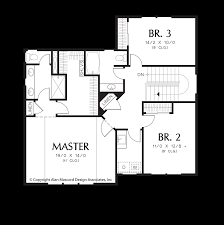traditional floor plan mascord house plan 21138a the woodhouse