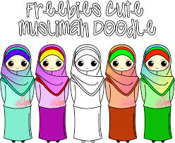 freebies doodle muslimah wadah madrasah pengalaman naeela aneeqa sofia zahra