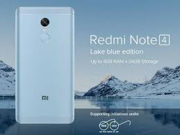 xiaomi redmi note 4 gets a new paint job will now come in blue
