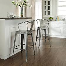 Bar Stools For Kitchen Islands Decorating Unique Farcroise Silver Bar Stools For Home Bar Or