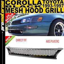 1996 toyota corolla front bumper 93 97 toyota corolla mesh sport front grille grill jdm ebay