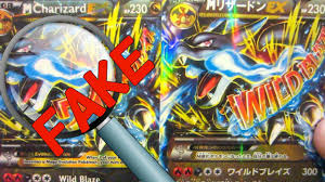 how to spot or identify fake pokemon cards 2015 youtube