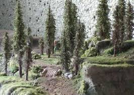 rpg diorama scenery trees