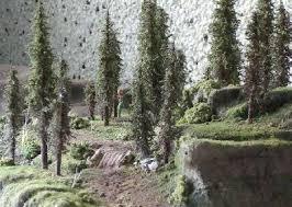 rpg diorama scenery trees