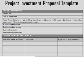 investment proposal real estate investment proposal 9 investment