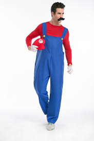 Mario Womens Halloween Costume Mario Collection Classical Super Mario Cosplay Costumes Family