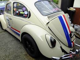 volkswagen beetle classic herbie 1972 herbie vw beetle new engine last year tax exempt rag top
