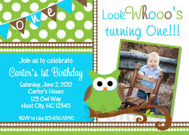 printable birthday invitations little boys owl party invites