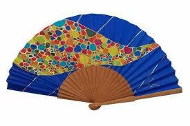 silk fan painted silk fan ma47