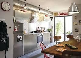 cuisine de loft cuisine style industriel loft un loft yorkais clectique