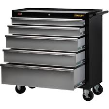 stanley 10 drawer rolling tool cabinet stanley 40 5 drawer rolling tool cabinet walmart com