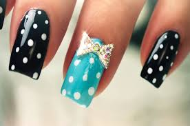 diy try this cute polka dot nail art design for an exciting summer