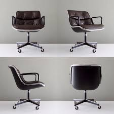 midcentury desk chair the charlie pollock executive chair an icon of mid century modern