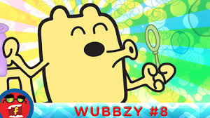 bubble contest fredbot children u0027s cartoon wow wow wubbzy