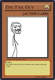 Meme Card Game - image 122003 4chan drinking game cards know your meme
