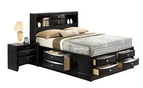 fancy twin bed with storage and bookcase headboard native home