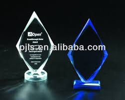 trophy custom made award blank glass ornaments
