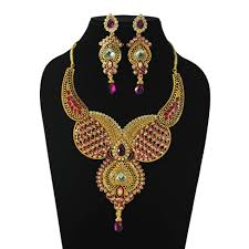 gold rani haar sets rani haar necklace set necklace sets homeshop18