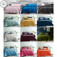 velvet duvet cover queen sweetgalas