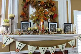thanksgiving mantel fall decor and crafts for thanksgiving creative reader features