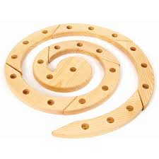 birthday ring wooden table decoration and ornaments by grimm s