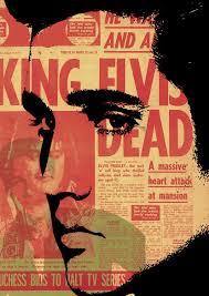 elvis presley poster king of rock n roll music fine by artistico