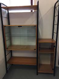vintage 1960 70s ikea ladderax style shelving system in rugby
