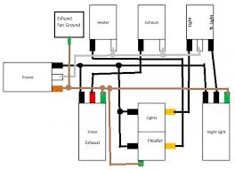 wiring bath fan heater light night light doityourself with