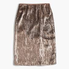 sequin skirt silver sequin skirt women s skirts j crew