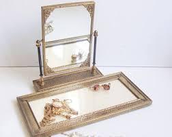 Makeup Vanity Tray Antique Vanity Tray Etsy