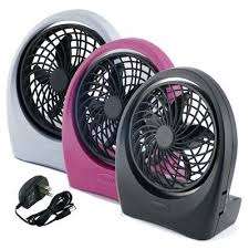 battery operated fans portable plus battery operated fan ac adapter included