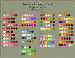 color swatches 40 color swatches by ed elementaldesign on deviantart