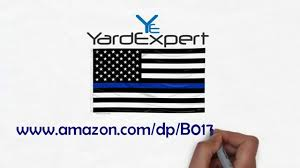 Blue Flag With White Star In The Middle Thin Blue Line American Flag Youtube