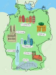 Dortmund Germany Map by Hamburg Germany Map Black