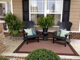 Outdoor Furniture Asheville by Home Design Two Black Wooden Chair With A Flower Pot In The