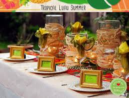 luau table centerpieces tropical luau party ideas your guide to table decorations favors