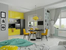 Loft Apartment Interior Design With Beautiful Art Work Square - Beautiful apartments design