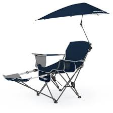 sport brella portable recliner chair midnight blue target