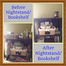 how to declutter your nightstand or bedside table nightstand