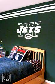 boy s rooms ah co decorative artisans ny jets teen room mural