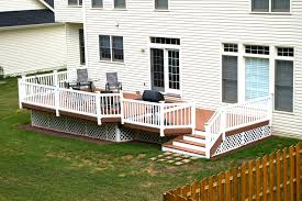 Composite Patio Pavers by Exterior Design Patio Door With Trex Decking Cost And Deck