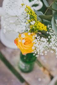 budget fleurs mariage les 177 meilleures images du tableau mariage en jaune sur