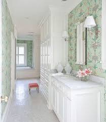 Wallpapered Bathrooms Ideas 76 Best Bathrooms Images On Pinterest Bathroom Ideas Room And Home