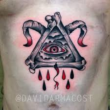 illuminati satan by david armacost me at hybrid image tattoo