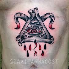 illuminati satan by david armacost me at hybrid image tattoo
