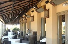 ceiling fans with heaters built in built in patio heaters house bar design patio rustic with outdoor
