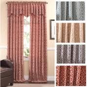 rod pocket curtains u0026 valances 4 less shop now to save