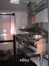 food trailer exhaust fans 5ft concession trailer or food truck grease exhaust vent hood withfan