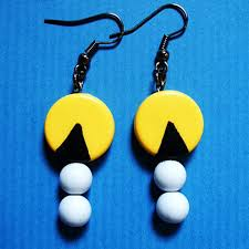 pacman earrings 17 nerdiest earring designs gadgether