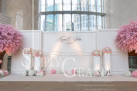 wedding backdrop hk whimsical elegance